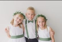 Flower Girls and Page Boys / The littlest guests (and some furry friends too!)