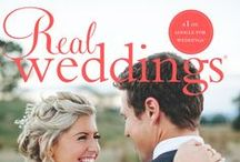Real Weddings covers / Every issue of Real Weddings magazine, cover by cover.