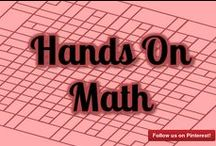 Hands On Math / Hands On Math help make math fun! Venture out of the exercise manuals and course books and into a universe of math manipulatives, entire body learning, math artworks, exercises and that's only the tip of the iceberg! Do you have a Hands On Math Activity you'd like to share? Contact me to become a contributor on this board: http://mathfilefoldergames.com/contact
