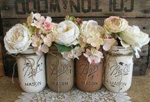 Mason Jars / All things Mason Jars. / by Anita Gambill