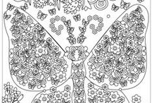 Flowers and Butterfly Coloring Pages / Free Coloring Pages of Flowers and Butterfly.Filling colors in the images of the app removes your focus from negative habits and issues, and lets you focus in a productive and safe way.