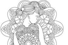 Women Coloring Pages / Stress Relief Adult Color Book uses the healing power of art in a research driven therapeutic science to reduce stress by coloring. Research shows that coloring has various therapeutic benefits.  This adult coloring book app has a wide variety of amazing, intricately detailed images. As you color an image, you would feel your stress and anxiety gradually fading away. Your brain calms down and you become more mindful. Unmatched Coloring pages form stress Relief coloring app