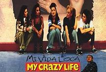Mi Vida Loca / This board is for fans of the 1990's Chicano gang girl cult classic, Mi Vida Loca. To me, Mi Vida Loca is not just a film but it's a feeling, a state of being. On this board you will find cholas, pinups, tattoos, lowriders, bombs, graffiti and oldies.