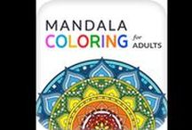 Mandala Coloring- For Adults / Mandala Coloring for Adults has a large number of mandala coloring pages with beautiful, intricately detailed mandalas for you to color. Mandalas are circular figures symbolizing the universe in Buddhism and Hinduism. Colouring these sacred circles helps you manage anxiety, relieve stress, and calm your mind.