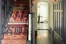 Stairs, Entrances, Hallways, Porches and Verandas! / Up, down, in, out, around and about. Passages to somewhere, or places to relax. Stairs of all sorts, foyers, entrances, hallways, porches, corridors, verandas, gazebos, sleep-outs, mud-rooms, storage nooks and more.