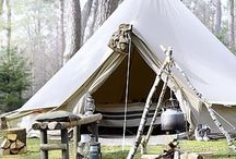 Glamping camping & being outdoors / We love camping and love doing it well / by Rik & Paula Bradshaw