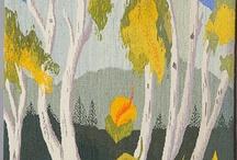 Fiber Art: Tapestry & Weaving / For more fiber art content, join the FiberArtNow.net tribe.