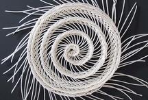 Fiber Art: Basketry / For more fiber art content, join the FiberArtNow.net tribe.