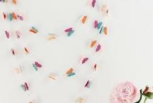 Dekoráció papírból-virág,girland,...