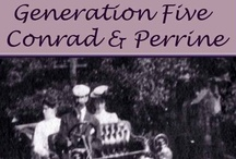 GENERATION FIVE CONRAD & PERRINE / The Last Lord of Paradise, a Family Saga of Early Michigan French. An Amazon Kindle series by Vivian LeMay.