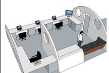 Office Fit-out 2013 / Design ideas for new office May 2013.