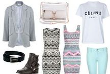 shopping and inspiration collages