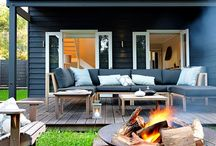 Tiny House Outdoor Living / by Amy Dinsmore