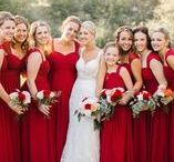 Wedding Color // Red / The thing about the color red is that it looks good on everyone -- and that's a fact.
