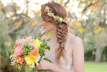 Hair and Make up {Inspiration} / Beauty and hair inspiration for wedding and engagement shoots