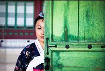 Hanbok Traditional {Inspiration} / Traditional Korean Dress style photography inpiration