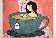 Coffee, Tea and Me (◉‿-) / Coffee, tea and me....just like what I said ^_^* / by Tink ^_^*❌⭕️
