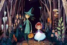 Illustration | Storybook / by Jenny Peters