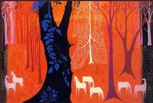 Illustration | Eyvind Earle / by Jenny Peters