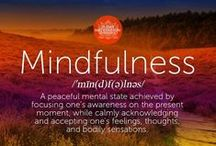Mindfulness + Ways of Thinking / Mindfulness, thought patterns, art therapy, ways of thinking, relaxation techniques, mindful coloring, mindfulness for kids and teens, mindfulness for adults.