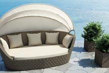 Premium Rattan Sunbed / Rattan napozóágy - rattan sunbed
