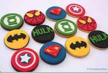 Super hero party / by Fabiana Martins