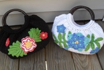 Crochet Bags, Purses, Cluths... / by Fabiana Martins