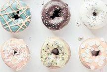 Sweet Treats / Cakes. Wedding Cakes. Doughnuts. Sweets. Sweet Treats!