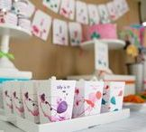 Art Birthday Party   Ideas, Decorations and Inspiration / Art birthday party ideas, including party decorations, art themed sweets and treats, printables and party activities.