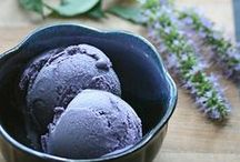 ♨ Icy Indulgence / ice creams, sorbets, gelato, and any manner of frozen delights