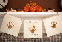 Thanksgiving Crafts, Printables & Gift Ideas / Thanksgiving place card printables, Thanksgiving coloring pages, Thanksgiving hostess gift ideas and more.
