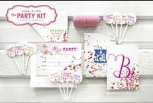 Confetti Birthday Party   Ideas, Decorations and Inspiration / Confetti birthday party ideas, including party decorations, confetti themed sweets and treats, printables and party activities.