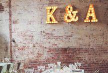 Industrial Weddings / Decoration of industrial weddings vintage