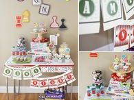 Family Game Night Party   Ideas, Decorations and Inspiration / Family Game night party ideas, including party decorations, family game night themed sweets and treats, printables and party activities.