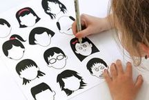 crafts with kids / by Tamara Hasty