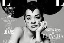 Zines / magazines, covers, stars