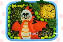 Bento Boxes and Other School Lunch Ideas / lunch box ideas for kids and/or grown ups / by Katie Raddon