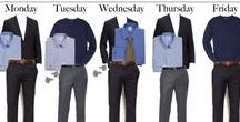 Work Appropriate / Appropriate attire for the office. How to build a professional wardrobe.
