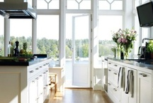 """Kitchen * Design / """"My kitchen is a mystical place, a kind of temple for me. It is a place where the surfaces seem to have significance, where the sounds and odors carry meaning that transfers from the past and bridges to the future."""" ~ Pearl Bailey  / by Cocomama Foods"""