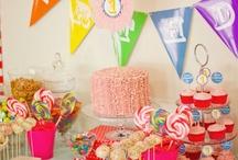 Gracie's 1st Birthday - Circus theme