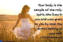 Body Blessing / My body is a temple of the Holy Spirit. Lord please bless me so that I become strong & healthy and am able to serve you better.  / by Christian Parenting