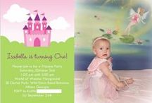 Bella's First Birthday / Princess party at the castle playground