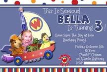 Bella's Third Birthday / Kept it simple this year. Wonder Pets theme. Did chuck e cheese, so most the stuff was spoken for.