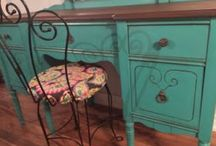 Painted furniture / Furniture painted by Alternatively Yours