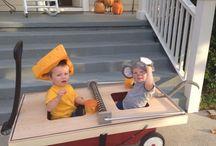 Halloween / Homemade Halloween costumes. Twin costumes.  / by Jackie Mracek