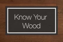 Know Your Wood / From pine floors, hardwood floors and FSC antique reclaimed wood floors, Carlisle offers the largest variety of exceptional solid & engineered wood flooring available today.   From care to design trends, let our pro-tips guide you through all your wood flooring queries.   / by Carlisle Wide Plank Floors