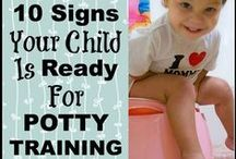Potty Training / But poop IS yucky: A pinboard all about potty training.