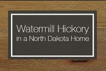 Watermill Hickory in a North Dakota Home / Carlisle Wide Plank Flooring client, Leanna, and her family are all moved into their new home and they are loving their Carlisle Watermill Hickory floors! Can you blame them? They look so stunning, we couldn't help but share. / by Carlisle Wide Plank Floors