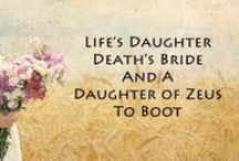 Quotes / Quotes from the Daughters of Zeus Series