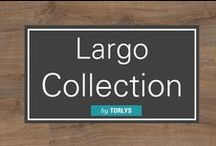 Largo Collection / Personalize your interior with the unique vintage inspired looks of a wide plank laminate flooring collection that combines beauty, quality and value. / by Carlisle Wide Plank Floors
